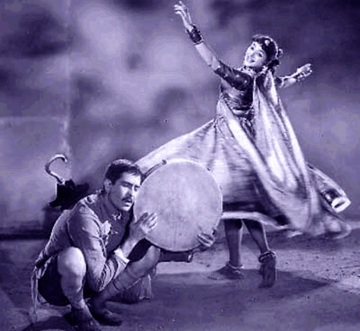 One of the greatest ever Song Dance performances of Hindi Movies by Padmini