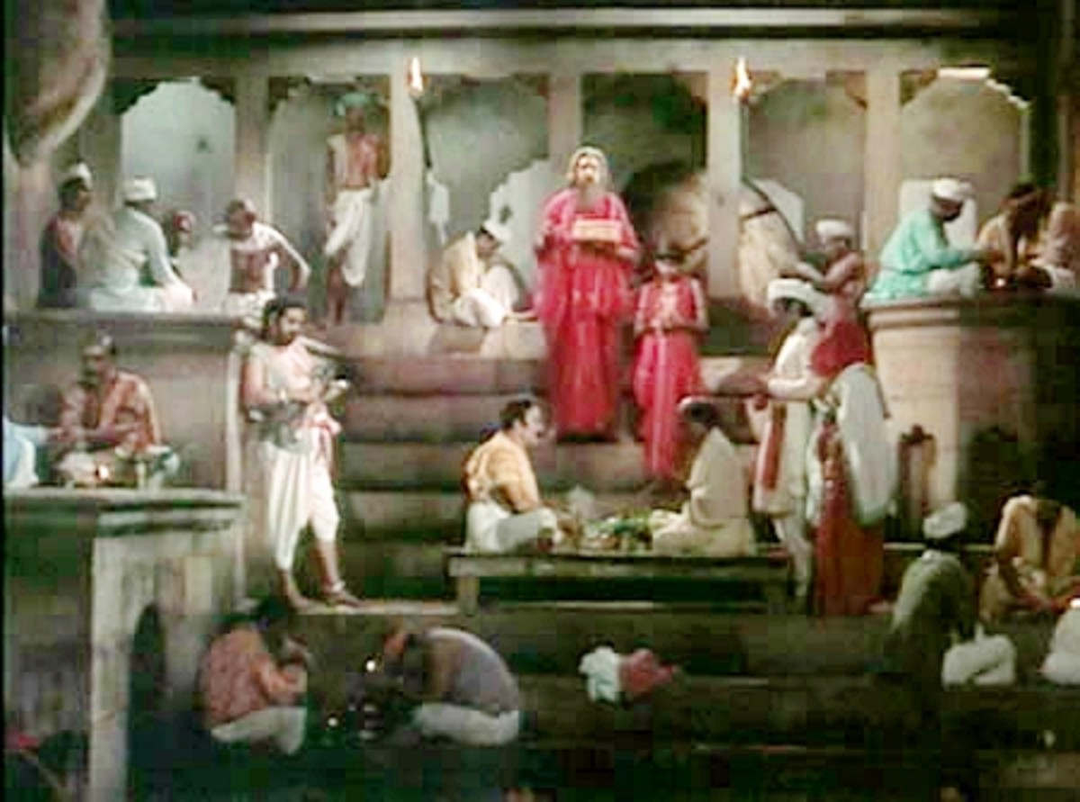 Rural Life depicted in Sunghursh: This song is a fine glamorised depiction of village dynamics