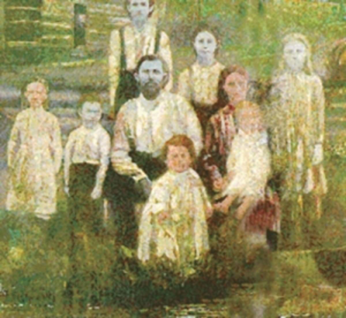 The Fugate family of Hazard, Kentucky