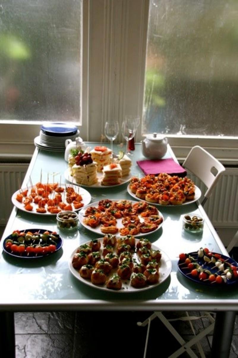 The savoury spread