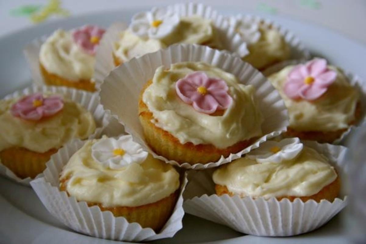 Hand made cupcakes