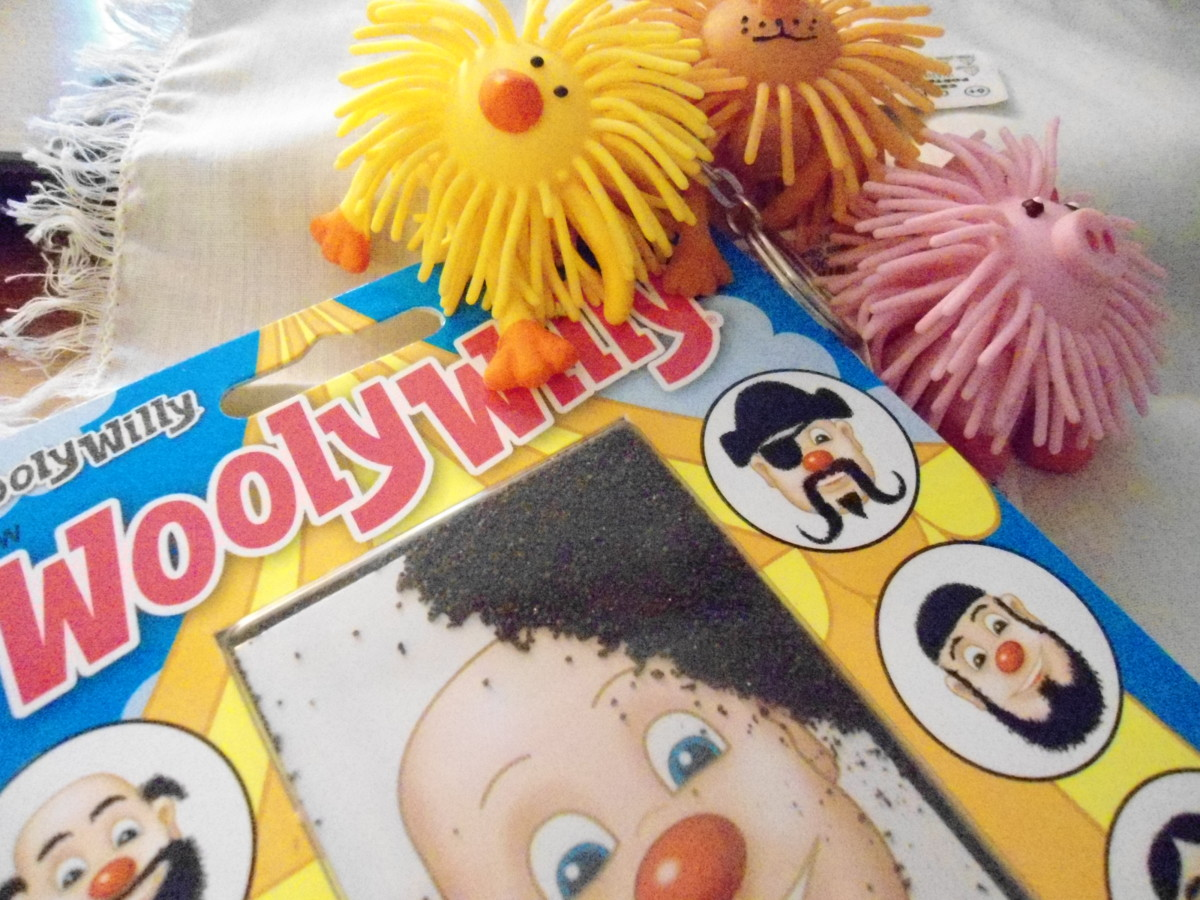 wooly willy and key chains