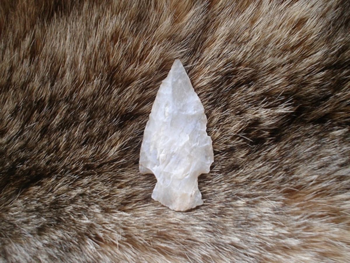 Quartz arrowhead found near where I live
