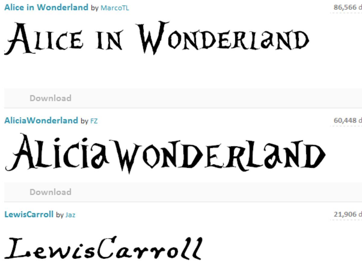 Alice In Wonderland Party Diy Ideas Free Printables Hubpages