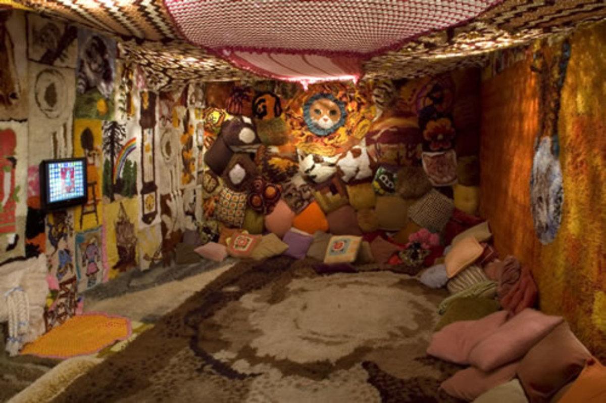 Modern menstrual hut in Israel
