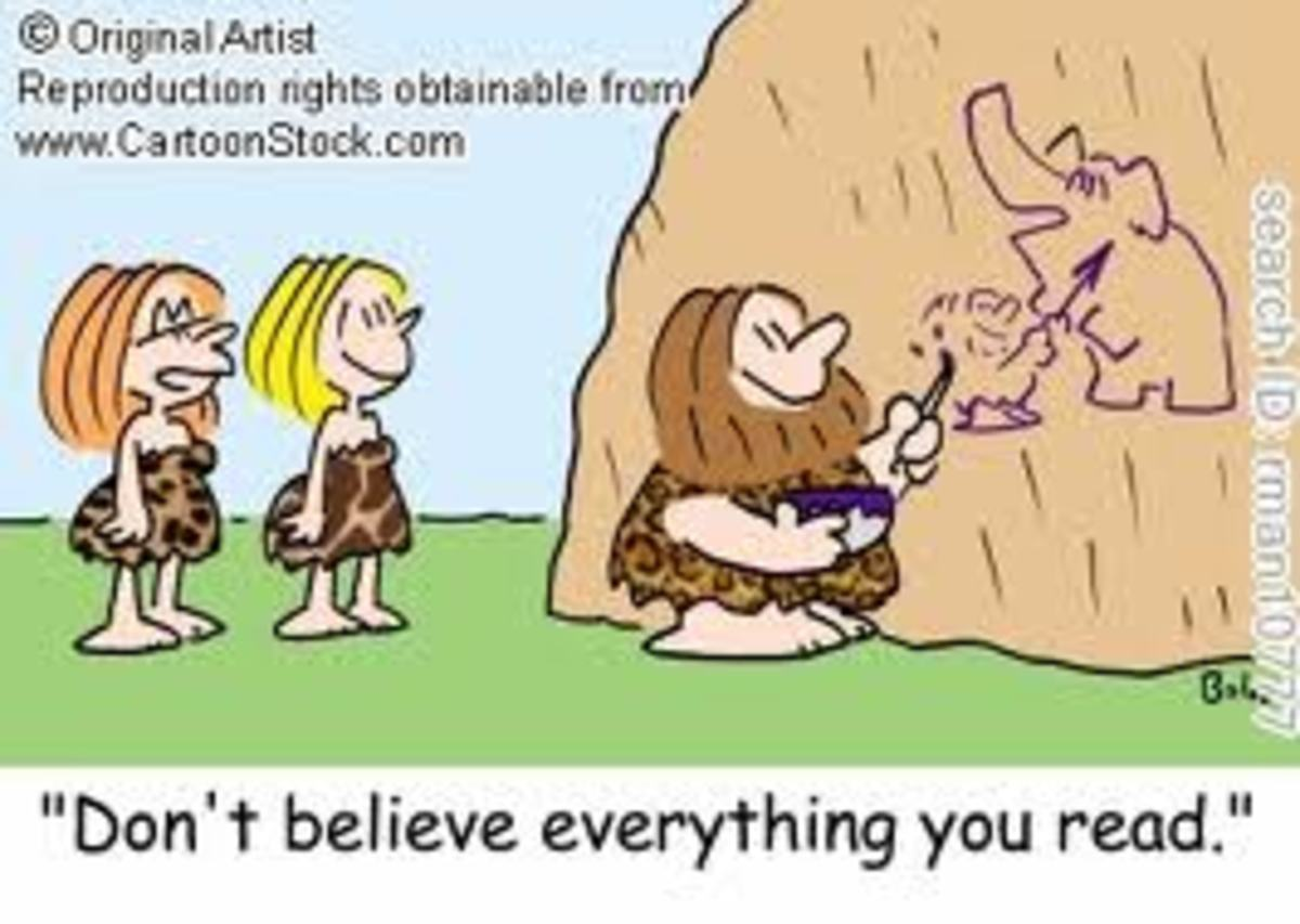 Advice Giver in the Prehistoric Era