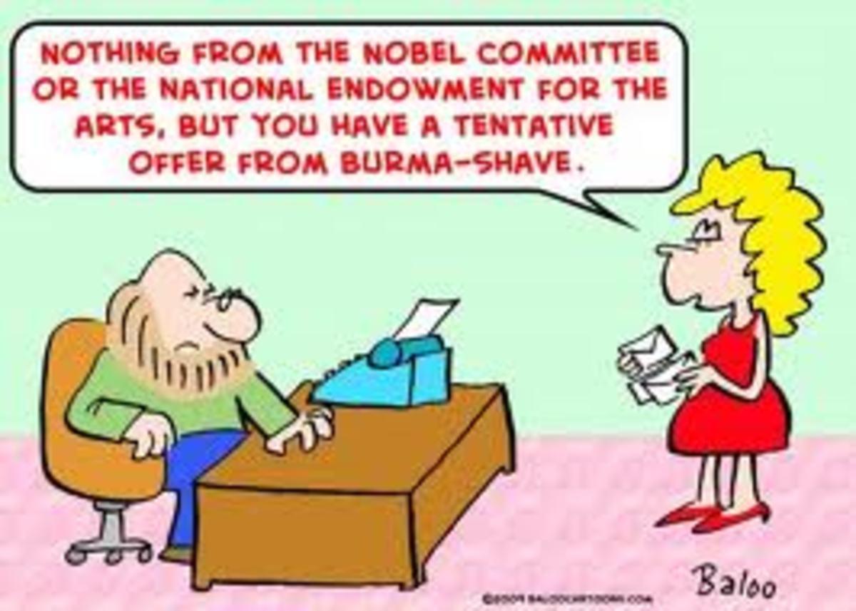 or you can write an Advice Column.