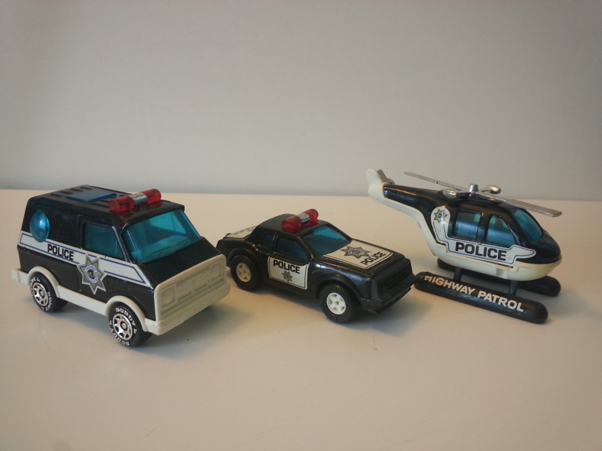 1980s Buddy L public safety set.