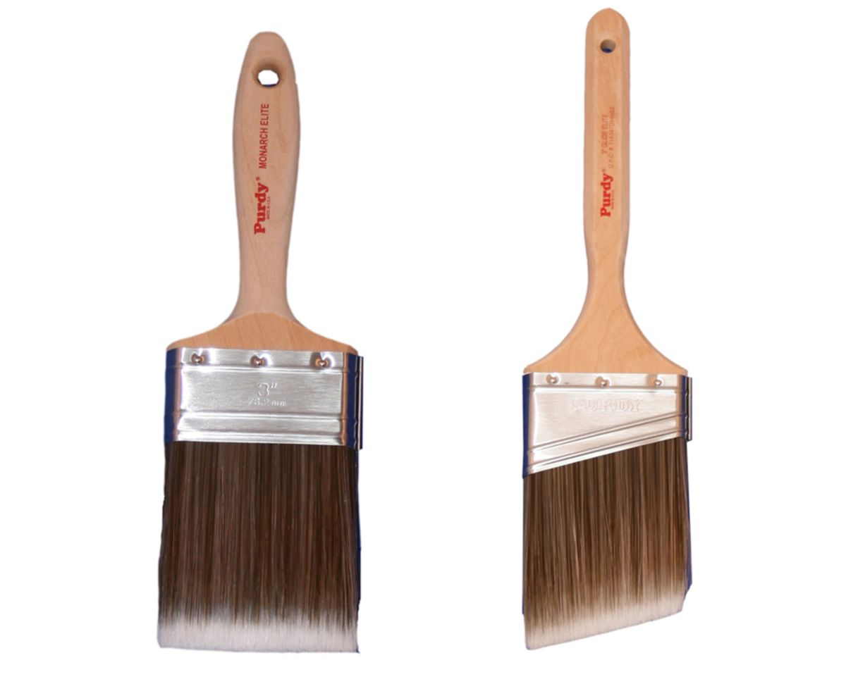 Examples of paint brushes