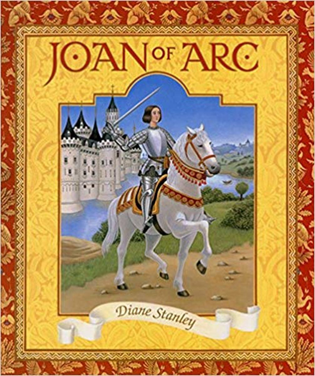 Joan of Arc by Diane Stanley - Book image is from amazon .com.