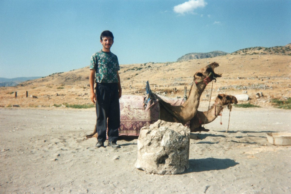 Man with camels, Turkey