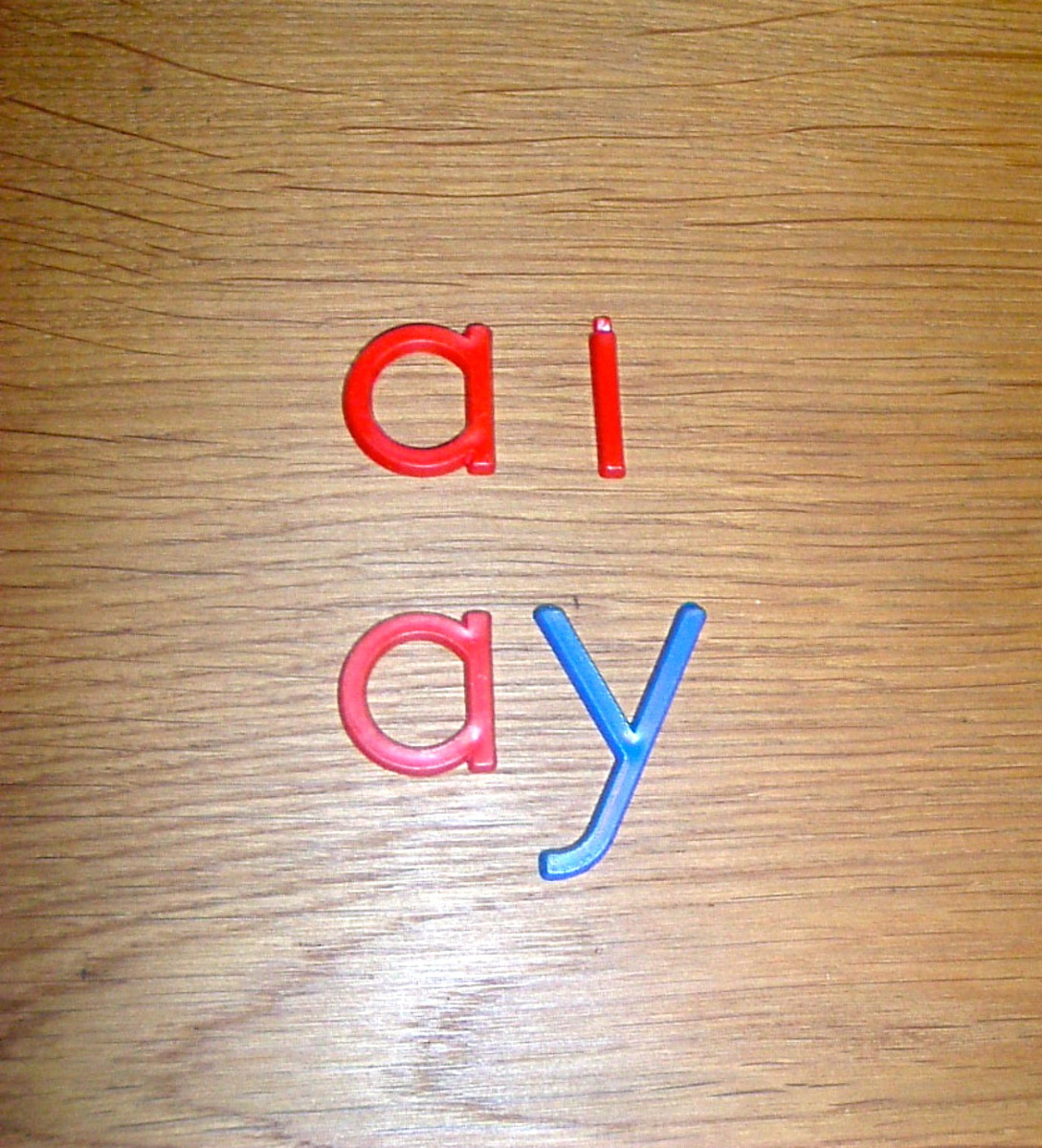 How to Help your Dyslexic Child & Have Fun! Long vowel sounds ai/ay; vowel digraphs, building words