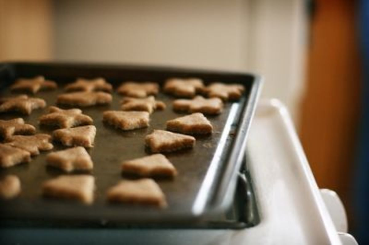Picture of homemade dog treats by ginnerobot