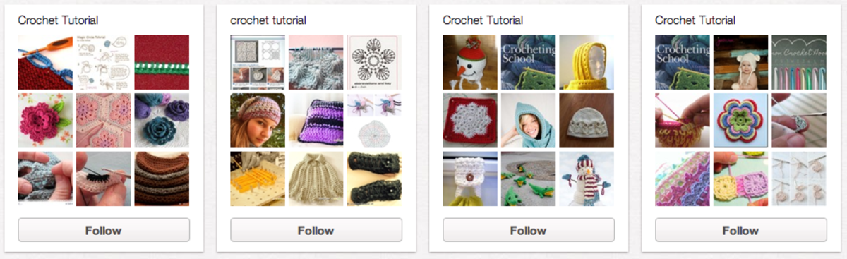 Collect and Organize Tutorials by using Pinterest.com