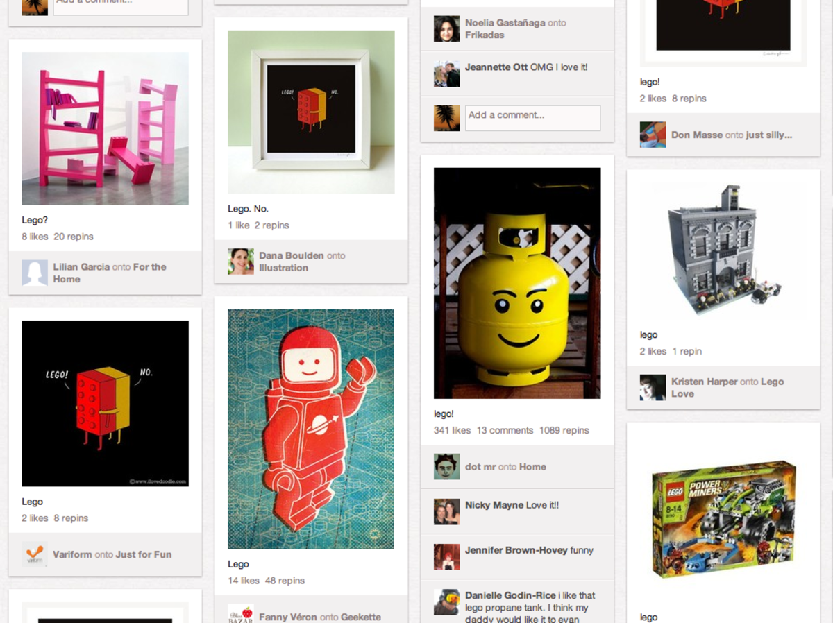 Does your child like LEGOs?  A quick search finds ideas from CubeDudes to making curved LEGO art pieces.