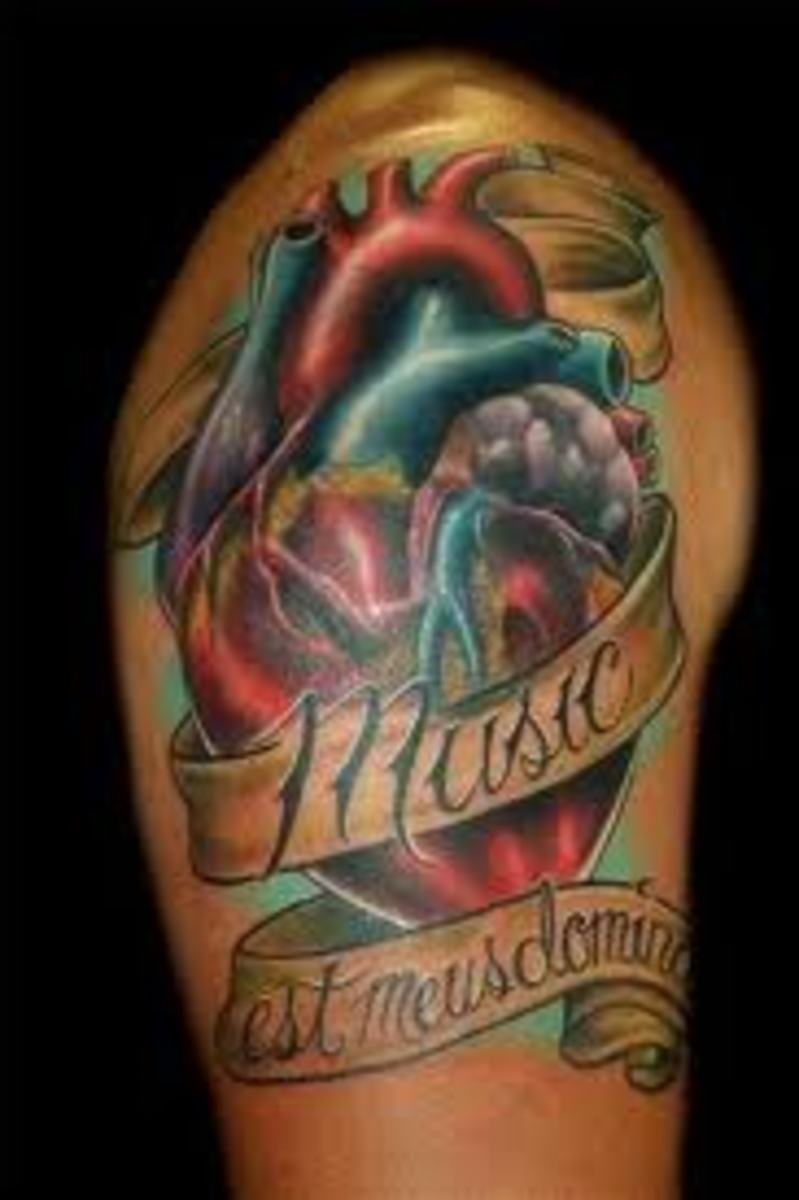 K Heart Tattoos Heart Tattoos And Heart Tattoo Designs-Heart Tattoo Meanings And Ideas