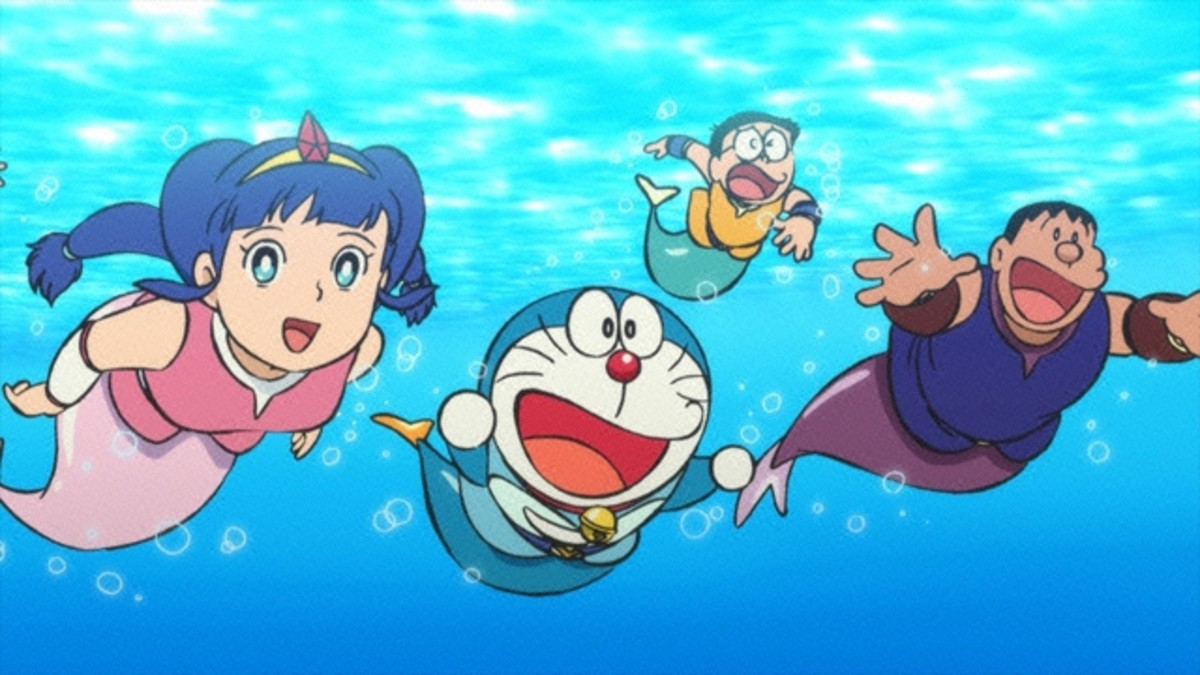Nobita and the Great Battle of the Mermaid King