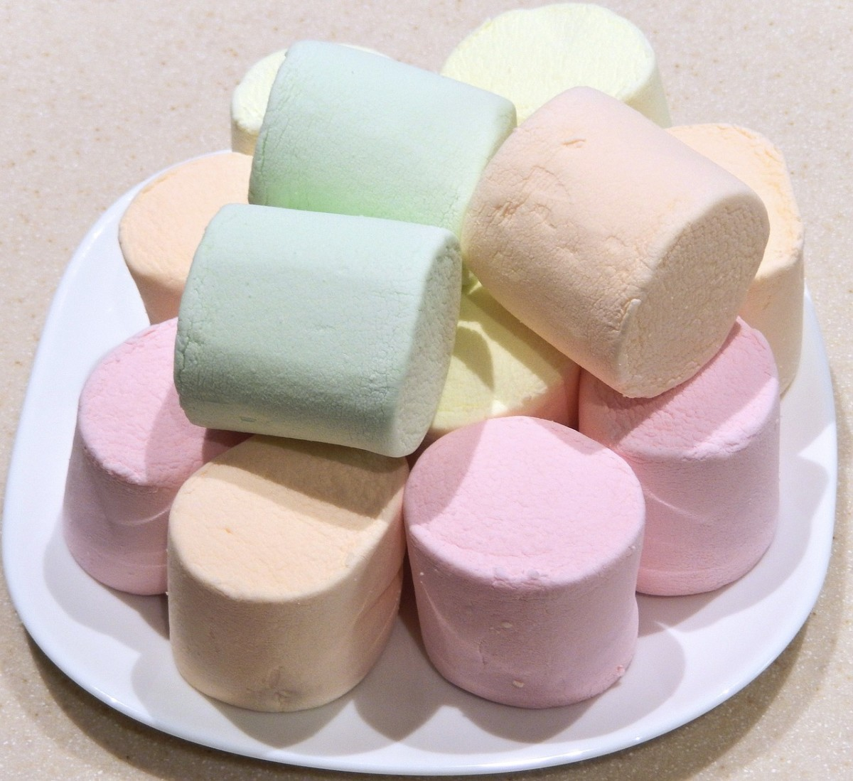 You can use items around the house like marshmallows to teach math to toddlers and preschoolers