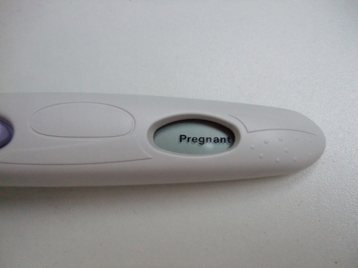 A digital pregnancy test will tell you 'Pregnant' or 'Not Pregnant'