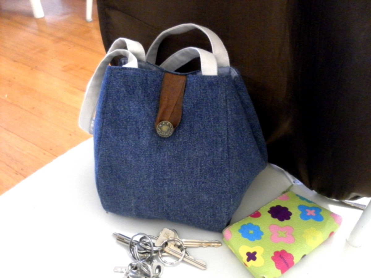A Great Bag Pattern & Free Sewing Project - How to Sew and Make a Noriko Handbag
