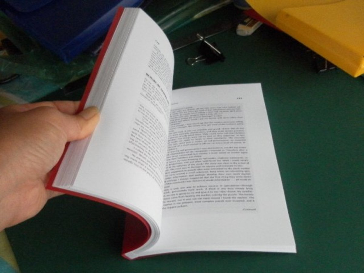 DIY Book Binding - How To Bind Your Own Books and Loose Leaf Pages At Home