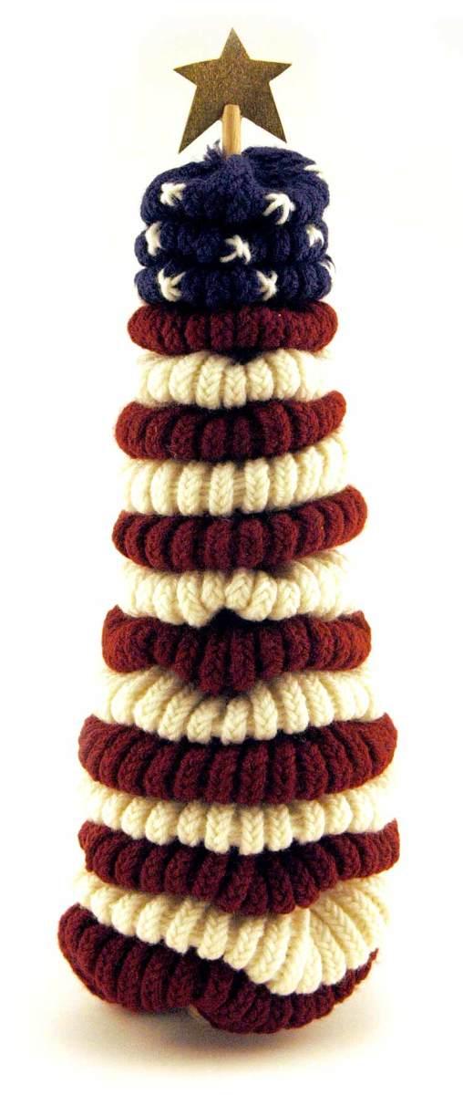 Knifty Knitter Patter for Flag Decor