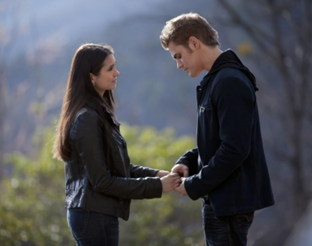 Elena and Stefan in love
