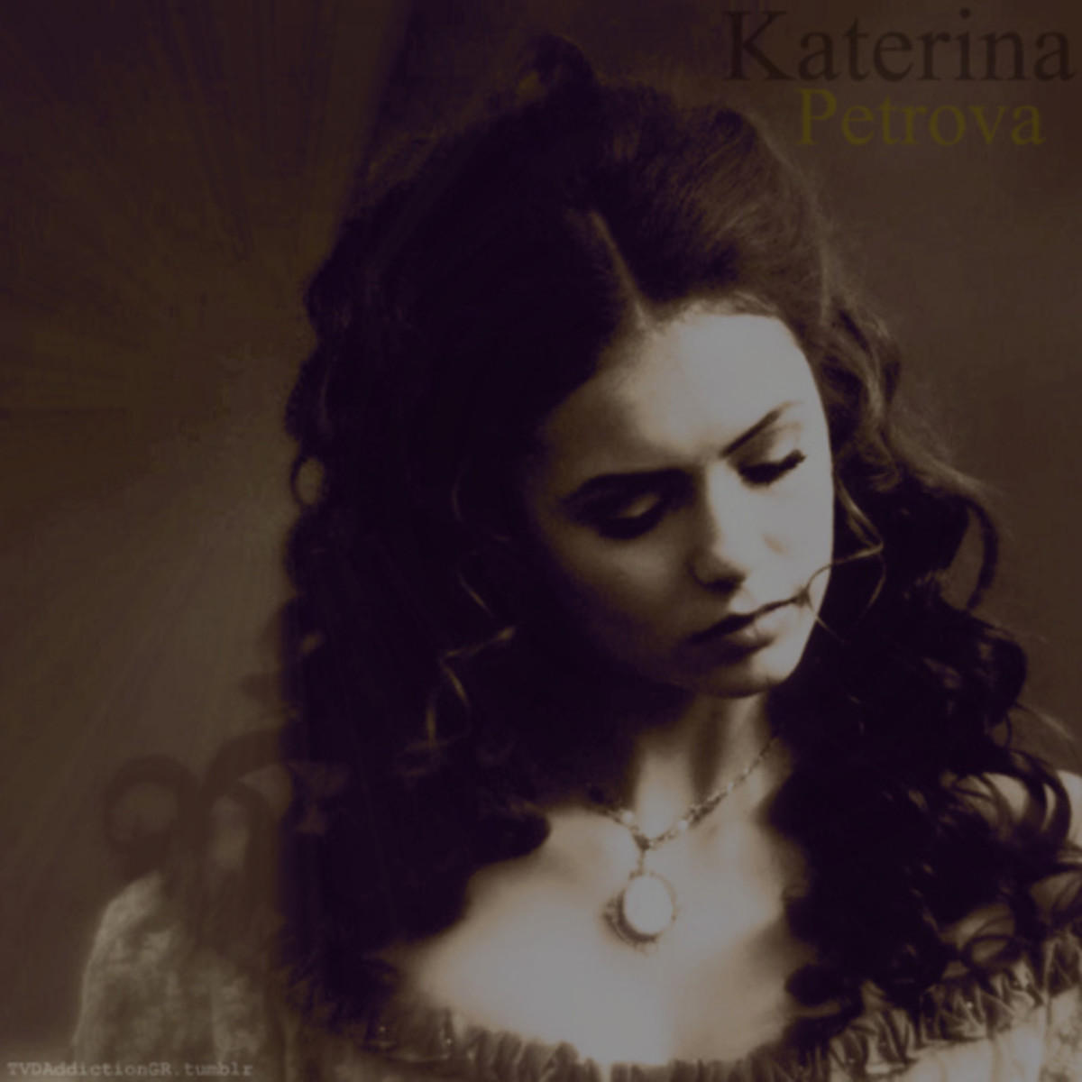 Old Picture of Katherine Petrova