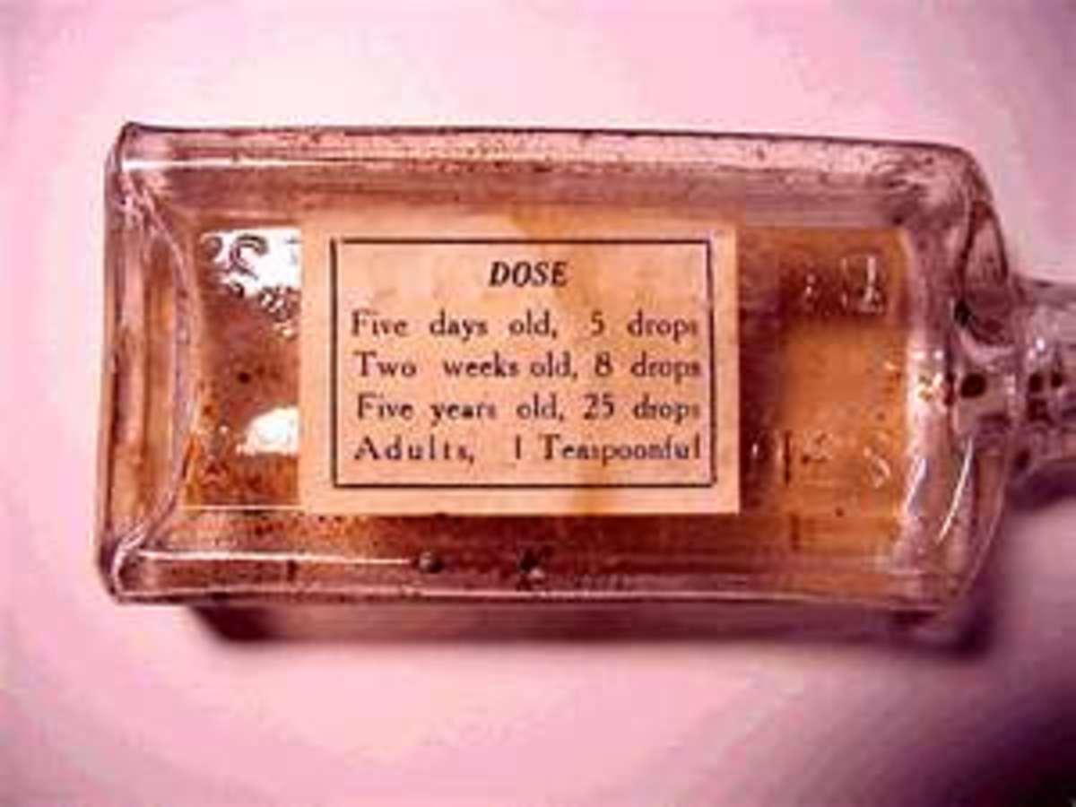 PAREGORIC - dosage instructions