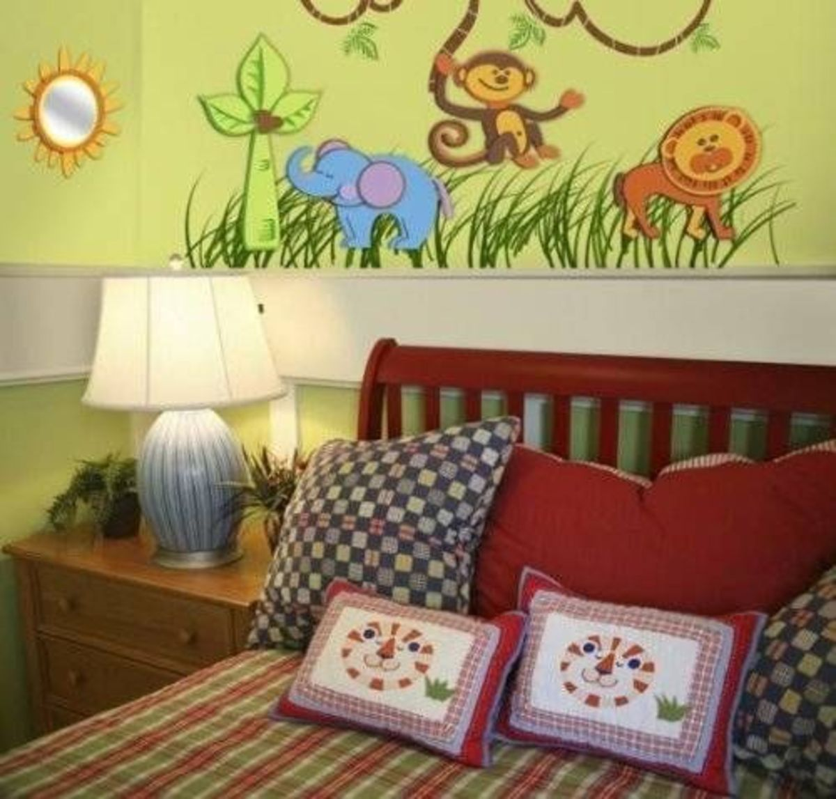 Animal Friends Foam Wall Decals