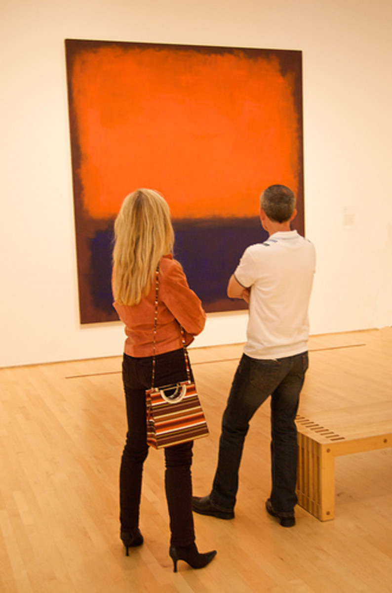 Incomprehensible modern art?