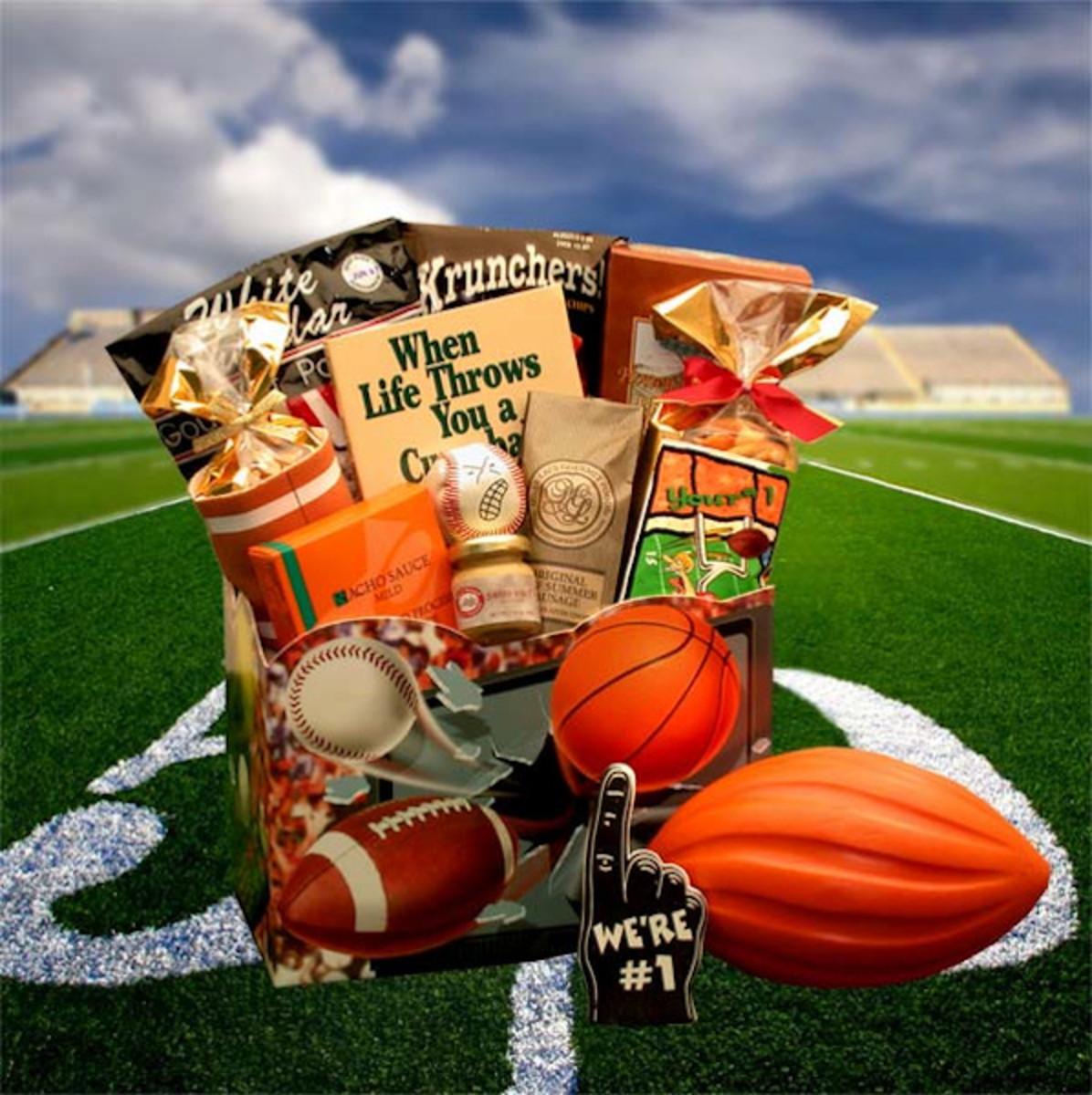 Sports Nut Gift Box