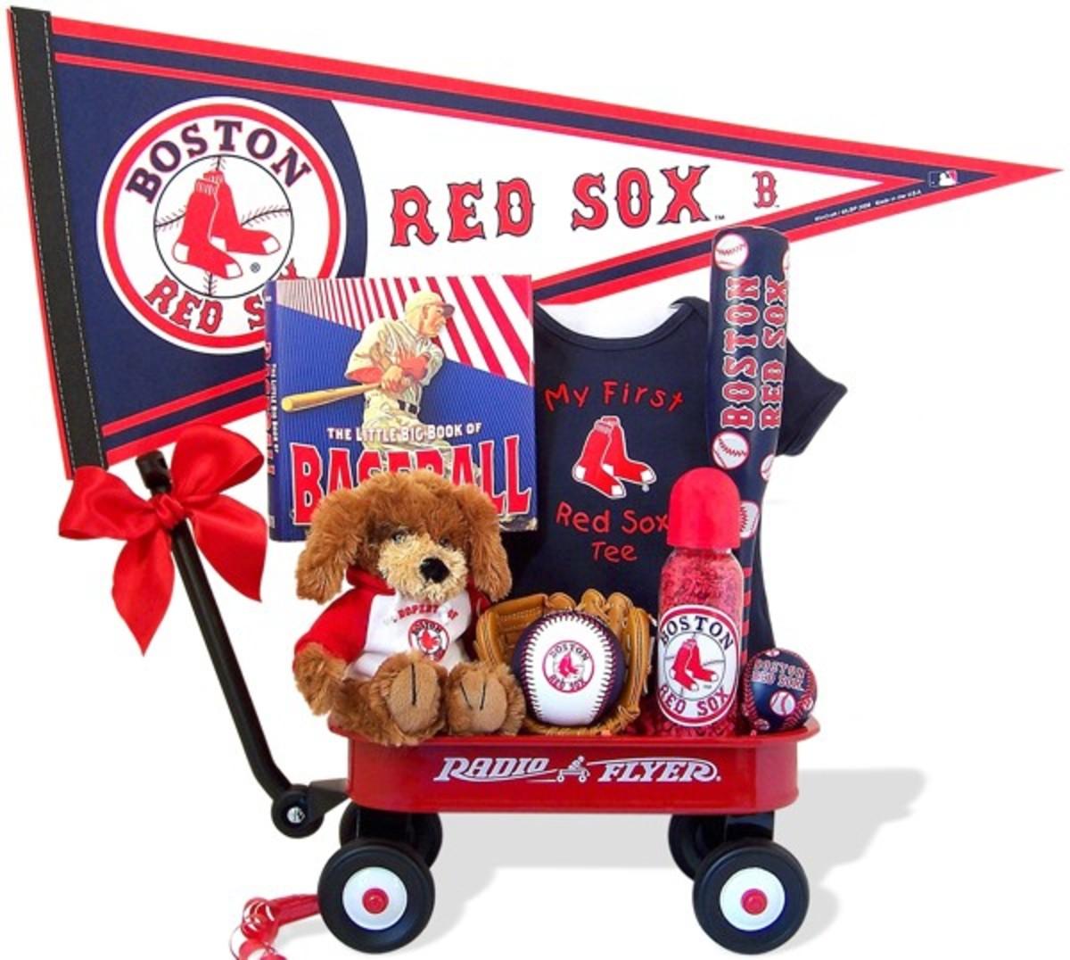 Boston Red Sox Baseball Wagon for Boys