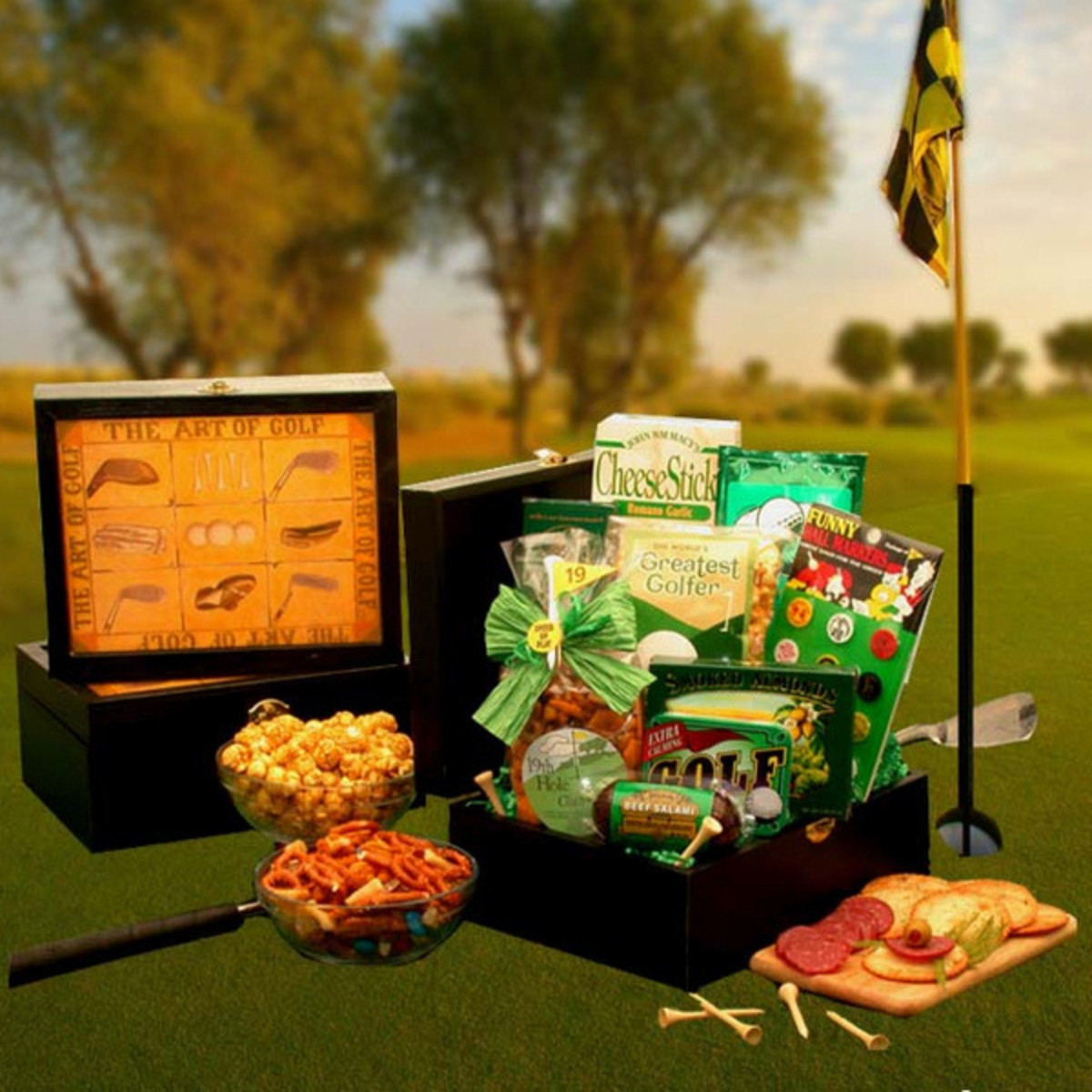 Golfers Deluxe Gift Box