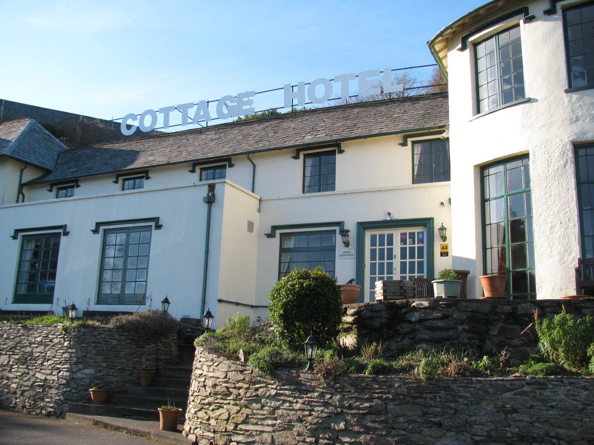 Lynton Cottage Hotel, now holiday apartments