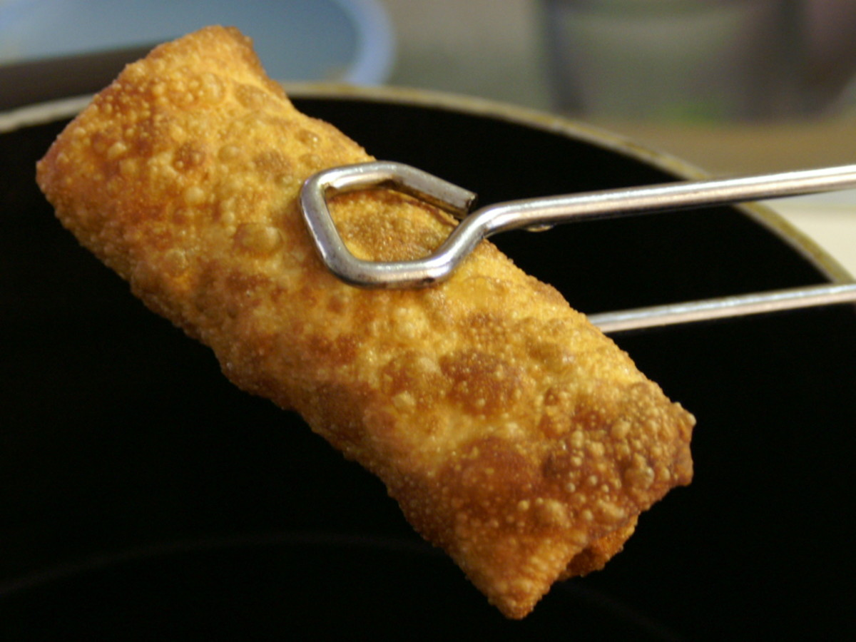 Egg Roll Tongs