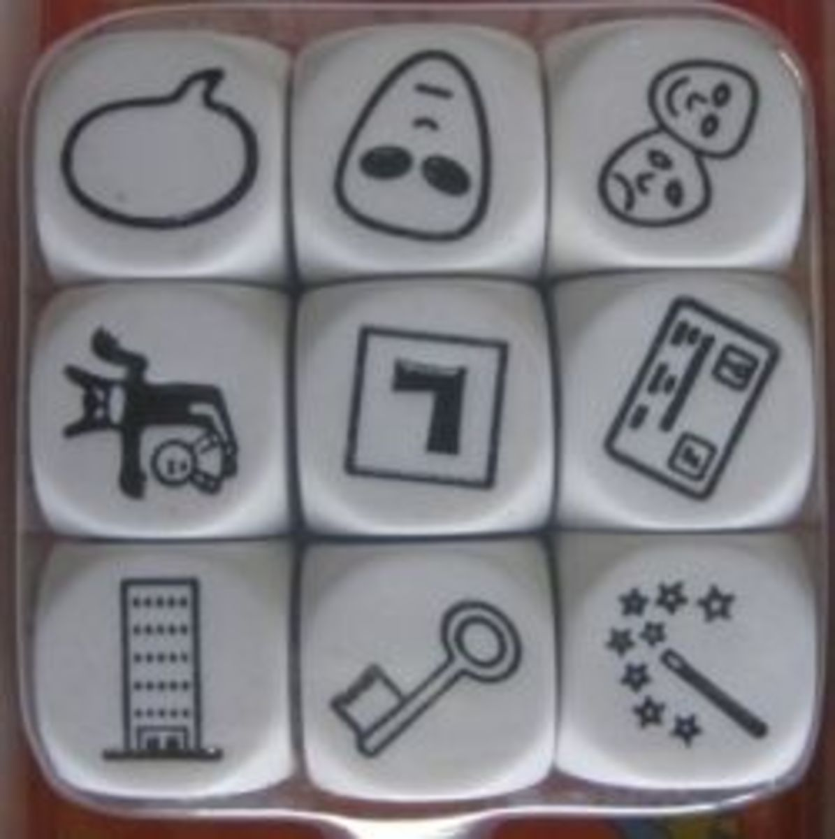 Stories from Rory's Story Cubes