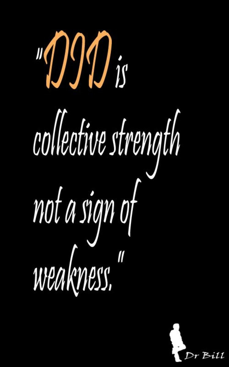 DID is a a gift of collective strength