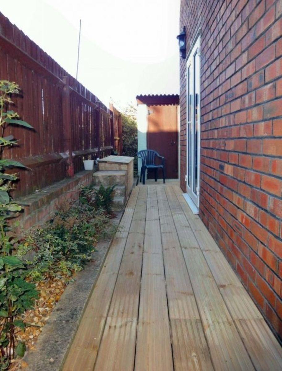Garden Decking Path