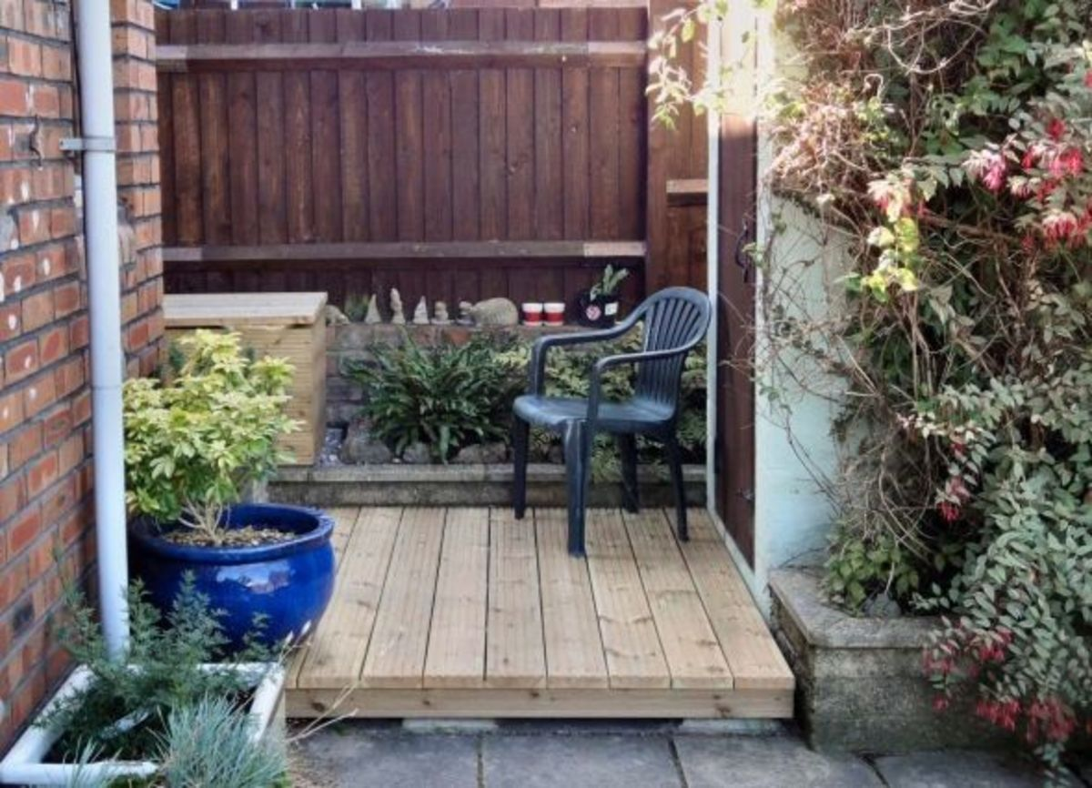 The Decking and Decking Frame