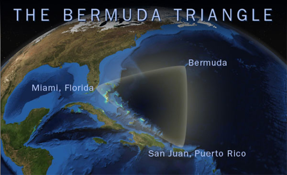 Bermuda Triangle Theories
