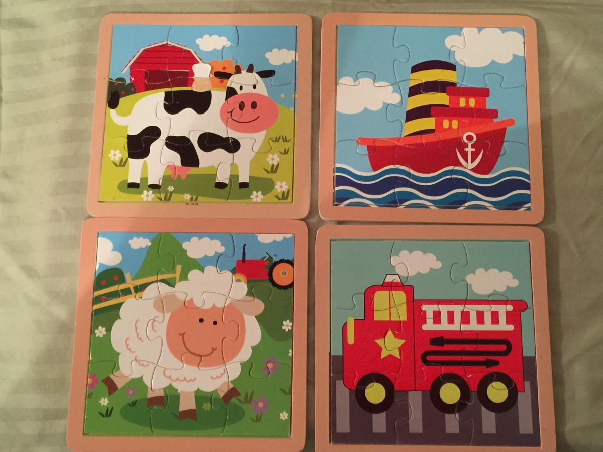These are $1 puzzles from Mighty Dollar