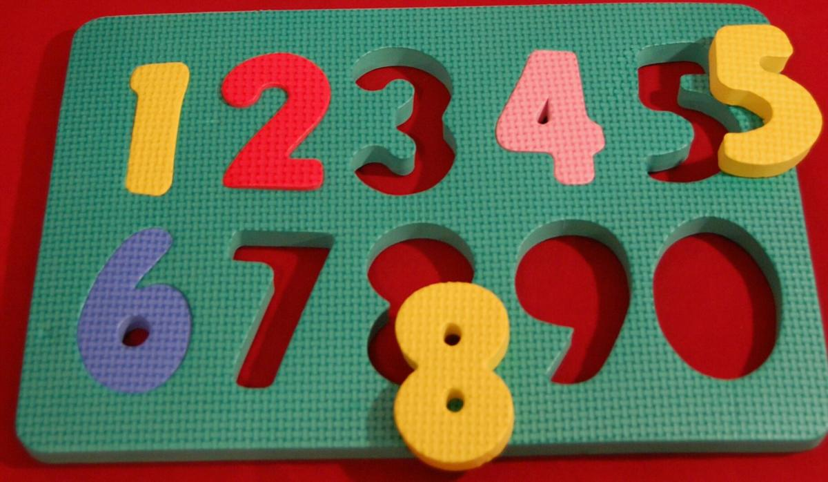 Dollar Store non-connecting number puzzle