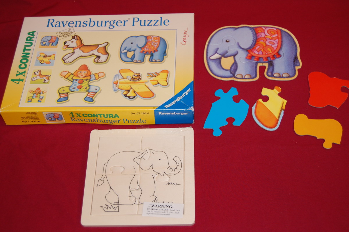 4- and 5-piece interlocking puzzles may not be as simple as you think.