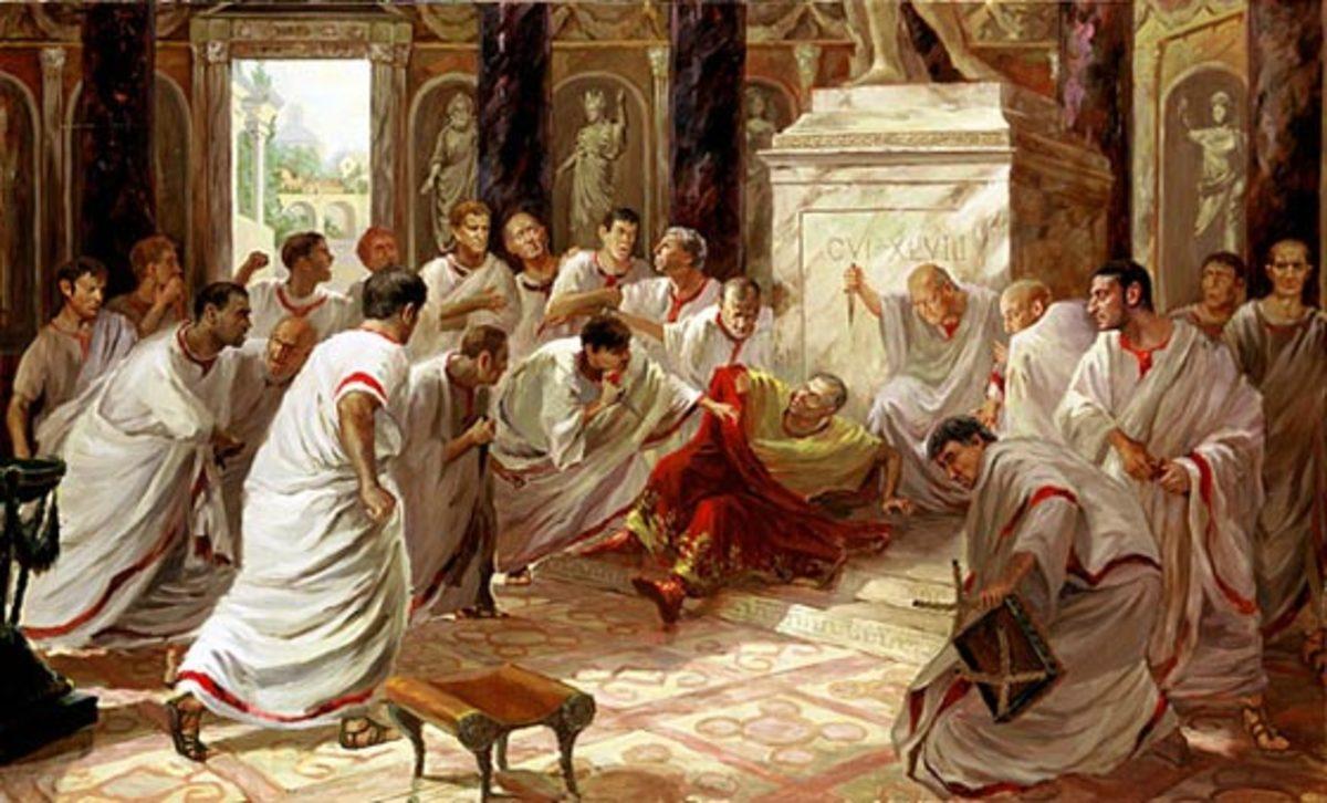 assassination of Julius Cesar