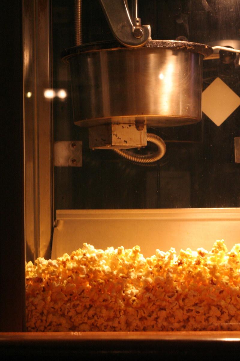 Share a tub of popcorn.