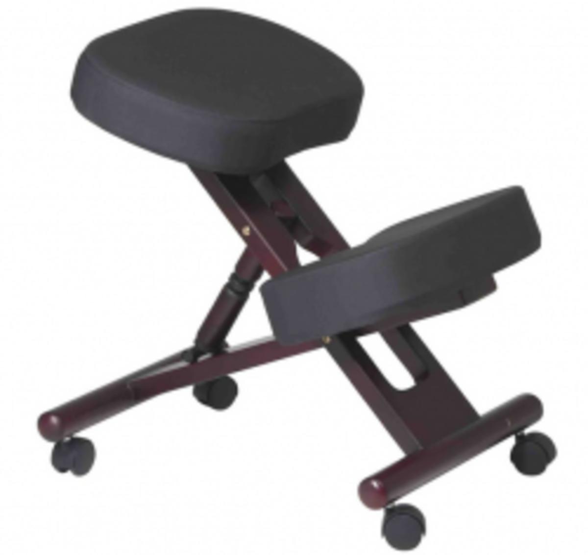 Ergonomic Wood Knee Chair