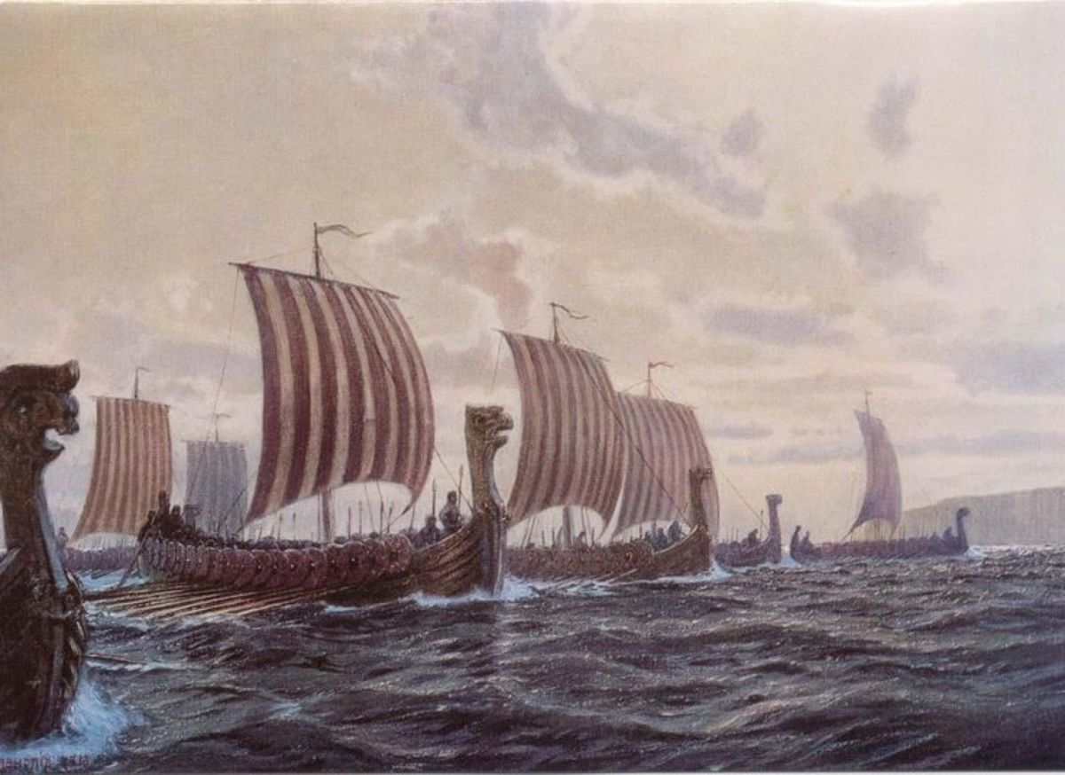 A sight to curdle the blood - Harald sigurdsson brought a fleet of over two hundred ships in September, 1066. Two weeks later sons Magnus and Olaf left again with two dozen or so...