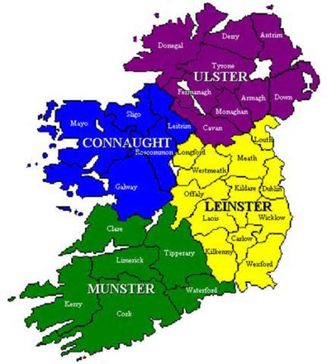 Kingdoms and alliances in mediaeval Ireland