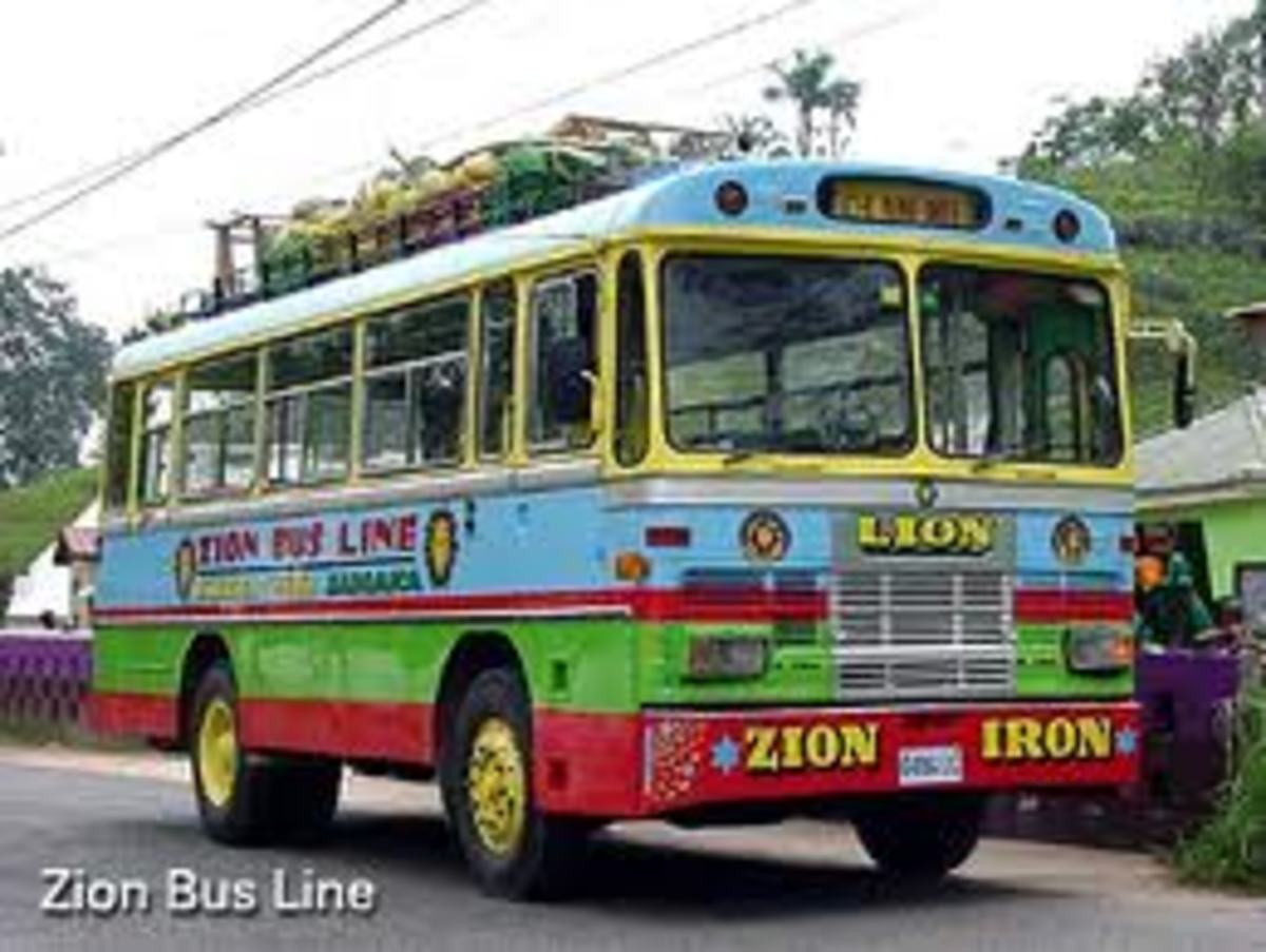 Every vehicle has their own name and character in Jamaica